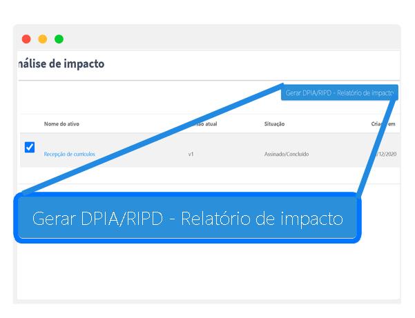 LGPD - DPIA - PIA - RIPD