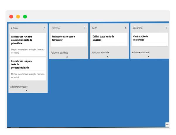 LGPD - Workflow automação
